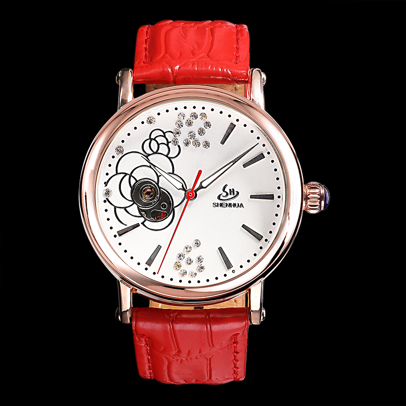 Vogue women mechanical watch automatic skeleton watch LD123