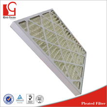 hot sale MERV 11 paper frame synthetic media furnace air filter for Residential