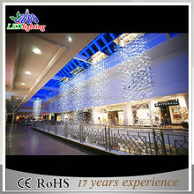 Most fashionable 3D giant led christmas scene decoration LED Motif Lights shiopping mall front door decoration