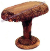 Rosewood Coffee Table, Coffee Table, Wooden Carved Coffee Table