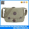 Wholesale hot sale men style fashion shoulder canvas messenger bag for book