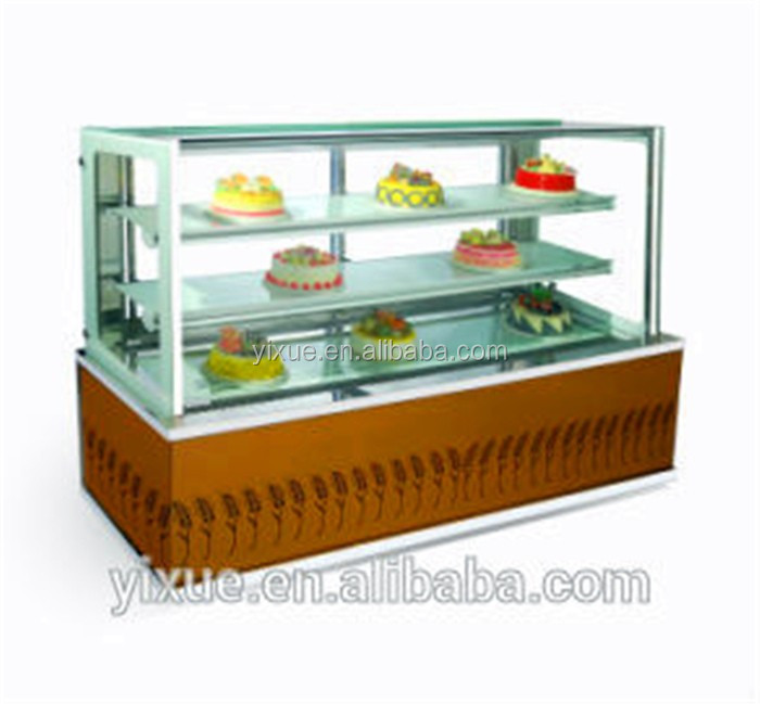 cheap and good quality china marble cake showcase
