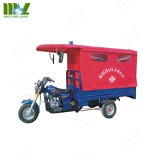 China factory price Cheap Simple Medical Tricycle/Ambulance Tricycle/Three Wheels Special Use Ambulance Motorcycle for medical