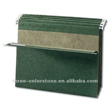 Hanging File Folder with kraft paper, A4,25/Box, 3 Tab