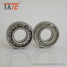manufacturer made best sales XKTE brand nylon retainer conveyor roller bearing 205TN C3/C4 from liaocheng shandong