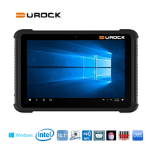 10.1 inch Rugged Windows Tablet PC with Integrated Barcode Scanner NFC Fingerprint RJ45 LAN Port RS232 Industrial Windows Tablet