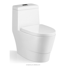 9143 shower one piece siphonic toilet for bathroom