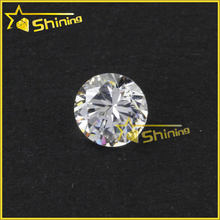 Wholesale AAA Round Lab Synthetic white Cubic Zircon Stone