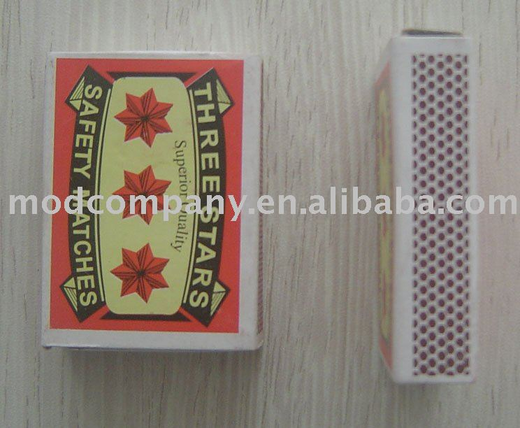 Three Star safety matches
