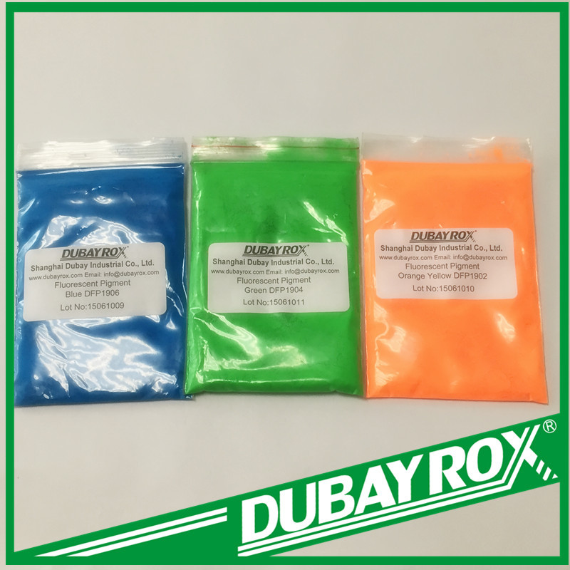 Powder Fluorescent Pigment Dye for Fabrics Textiles