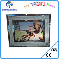 Sublimation 8inch Double side mirror frame
