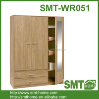 3 door 2 drawer new design mdf wardrobe cabinet for bedroom furniture