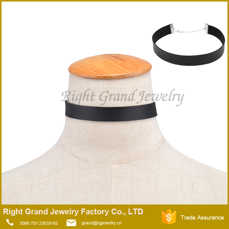 Trade Assurance leather choker