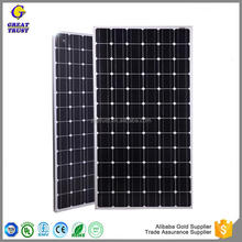 solar panel support structures flexible solar panel 180w 1 kw solar panel with low price