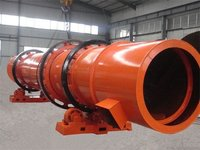 Stainless Slag dryer with reasonable composition
