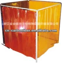 Transparent Vinyl Welding Curtain