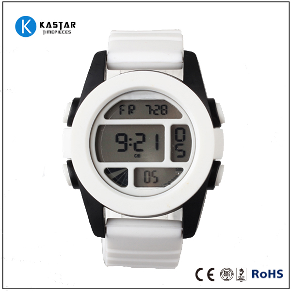 5ATM dive relojes factory direct price cheap sport watch led digital watch , silicone watch