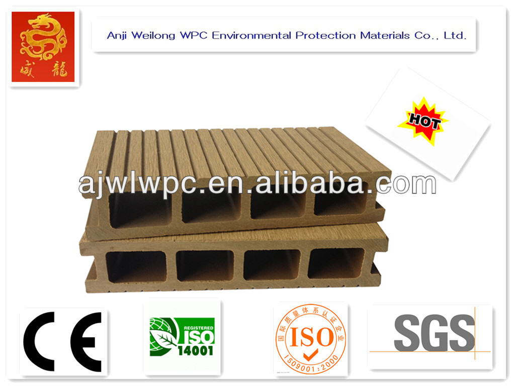 Hot sale!water proof + wpc decking board+passed CE, Germany standard, ISO9001
