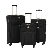 Wholesale 3 pcs set 20 24 28 inch 4 wheel urban trolley luggage China cheap wheeled luggage