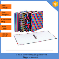 Customized Palstic Vinyl 2 Ring A4 Pvc Binder / Pvc File Folder