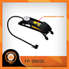New Style Single Cylinder Bike Foot Car Tire Inflator Pump with Gague & High Pressure FP0903C