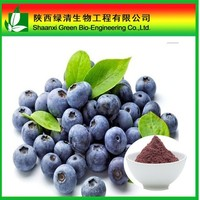 Anti-aging anthocyanins Bilberry Extract 25% anthocyanidin