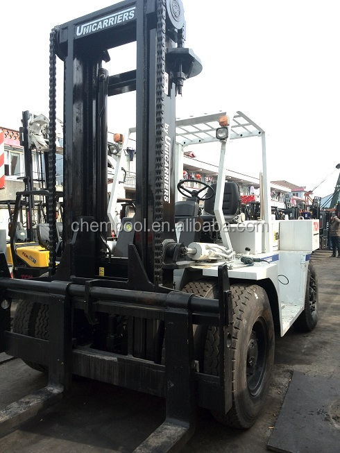 Used TCM 15 ton diesel forklift, FD150S, 4 m mast height
