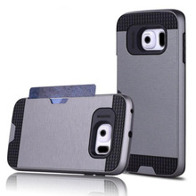 Dual Layer Solid PC 6 Phones N8 Smart Phone Cover Case With Business Card