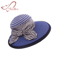 Wholesale Promotional PP Straw Women Hats