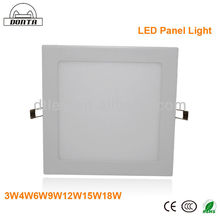 12w super china white led light panel zhongtian