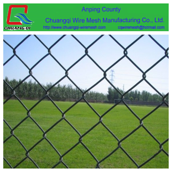 Heat Treated Pressure Treated Wood Type and Iron Metal Type temporary construction chain link fence