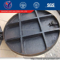 double seal cast iron manhole cover, manhole cover price