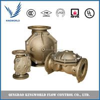 Corrosion Resistance Deluge Valve Aluminum Bronze Diaphragm Style FM