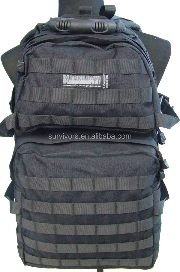 Tactical backpack outdoor black hawk Military backpack