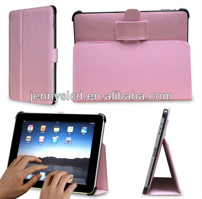 high quality leather case for iPad mini