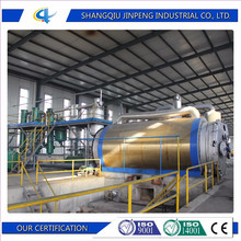 Professional Machine Recycling Rubber Waste Tyre Refuse Burning Plant