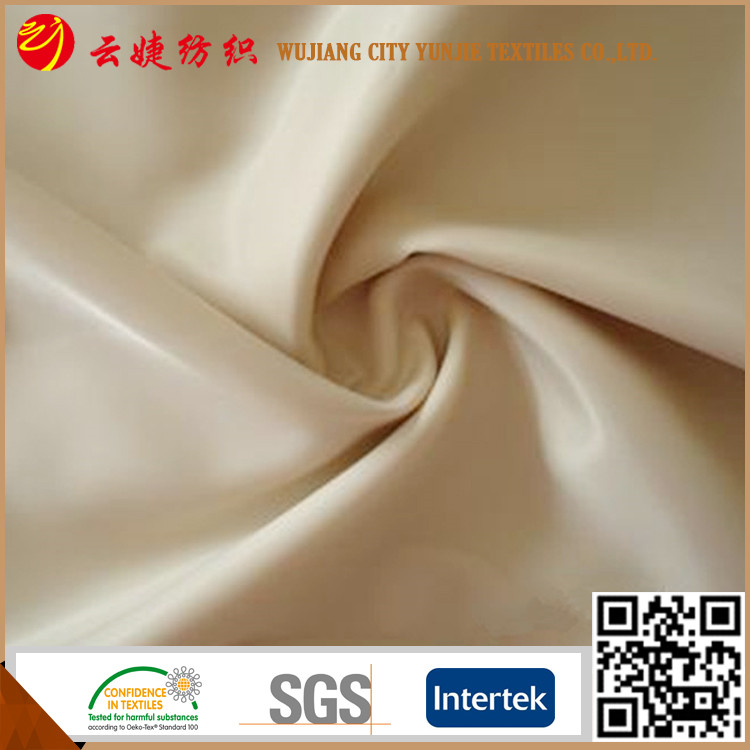 Polyester competitive price 240T poly pongee fabric