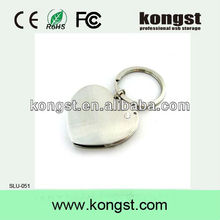 Kongst promotional gift usb flash drives,hot sales jewel usb,high quality heart shape jewel usb flash/stick/disk