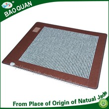 Whole sale from jade origin far infrared thermal therapy meridian dredging auxilliary jade massage mat