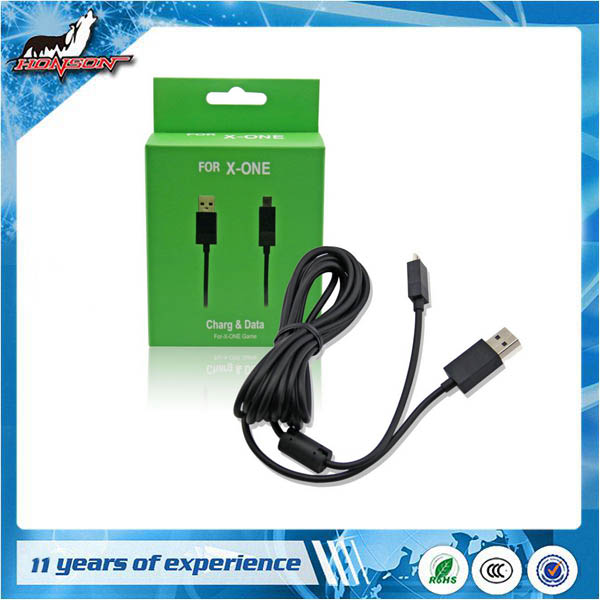 USB <strong>Electricity</strong> Charging and Connecting Cable for Xbox One Wireless Controller Joypad Charge Cable Charg & Date Cable