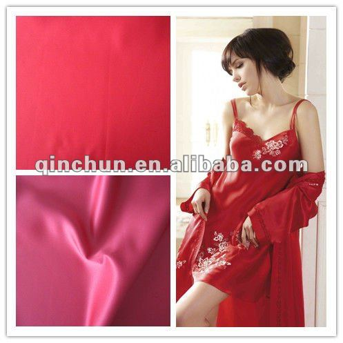 100%poly satin back crepe satin for dress