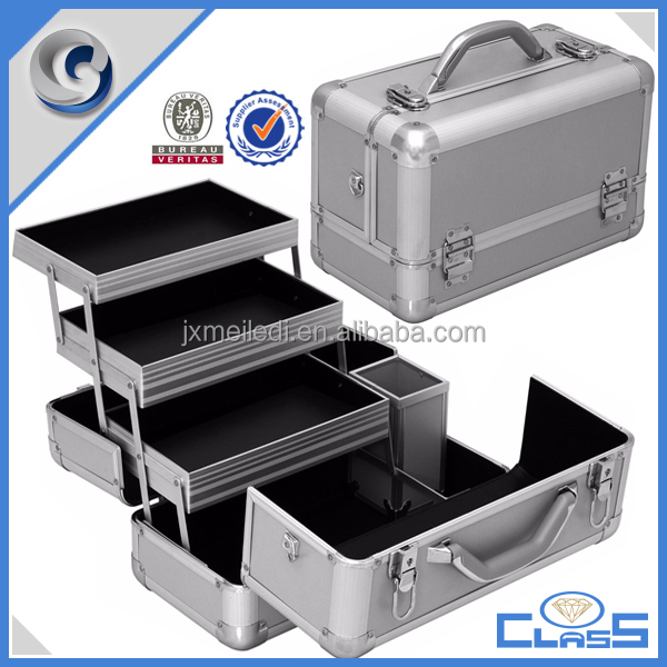 MLD-AC3c Professional tray Stylish Beauty Makeup Box Cosmetic/Nail/Hair Vanity Case