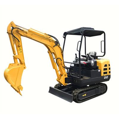 High Quality 1t Mini Crawler Excavator, Mini Digging Machine