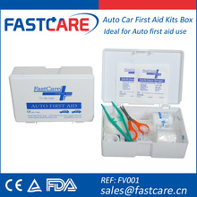 New Auto Car Emergency First Aid Kits Box With CE FDA