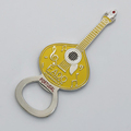 Metal Craft Portugal FADO Guitar Bottle Openers Custom Music Beer Opener Yellow Magnetic Small Bottle Opener