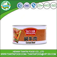 KOSHER,ISO,HALAL Certification and Canned Style canned corned beef