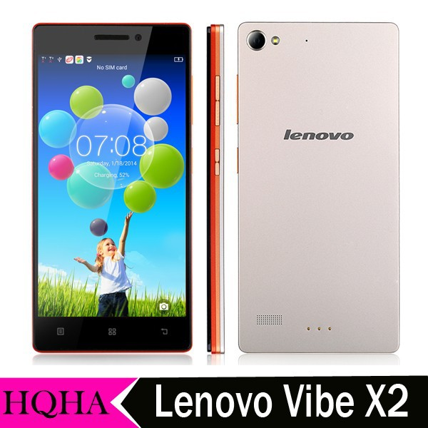 "5"" 4G LTE Mobile Phones MTK6595m Octa Core Android 4.4 2GB RAM 32GB Dual SIM 13MP Camera WCDMA Lenovo VIBE X2 Smartphone"