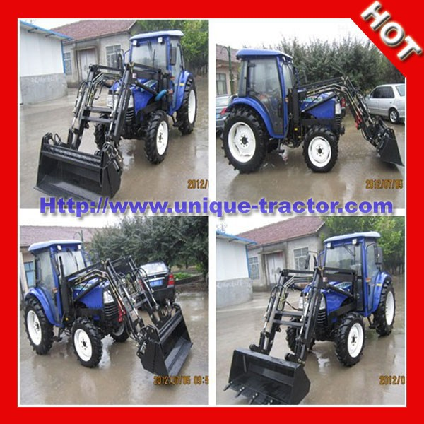 UT55HP 4x4wd farm tractor snow plow