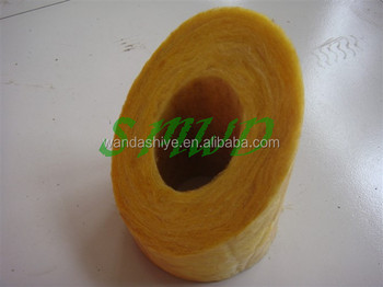 Low density fiberglass wool insulation pipe to export arab for Fiberglass insulation density