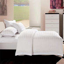 Top quality China hotel/home cotton stitching bed sheet